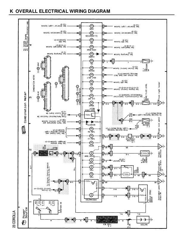 1994 Camry 5sfe Wiring Diagram - Wiring Diagram Schema
