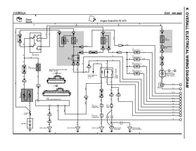 c 12925439 toyota coralla 1996 wiring diagram overall rh slideshare net E9 Corolla Toyota Corolla Turbo