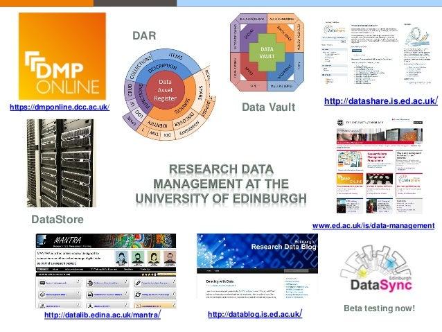http://datashare.is.ed.ac.uk/ www.ed.ac.uk/is/data-management http://datablog.is.ed.ac.uk/http://datalib.edina.ac.uk/mantr...