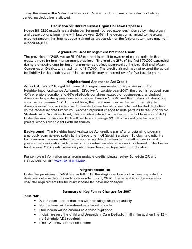 2007 Legislative Update Handout
