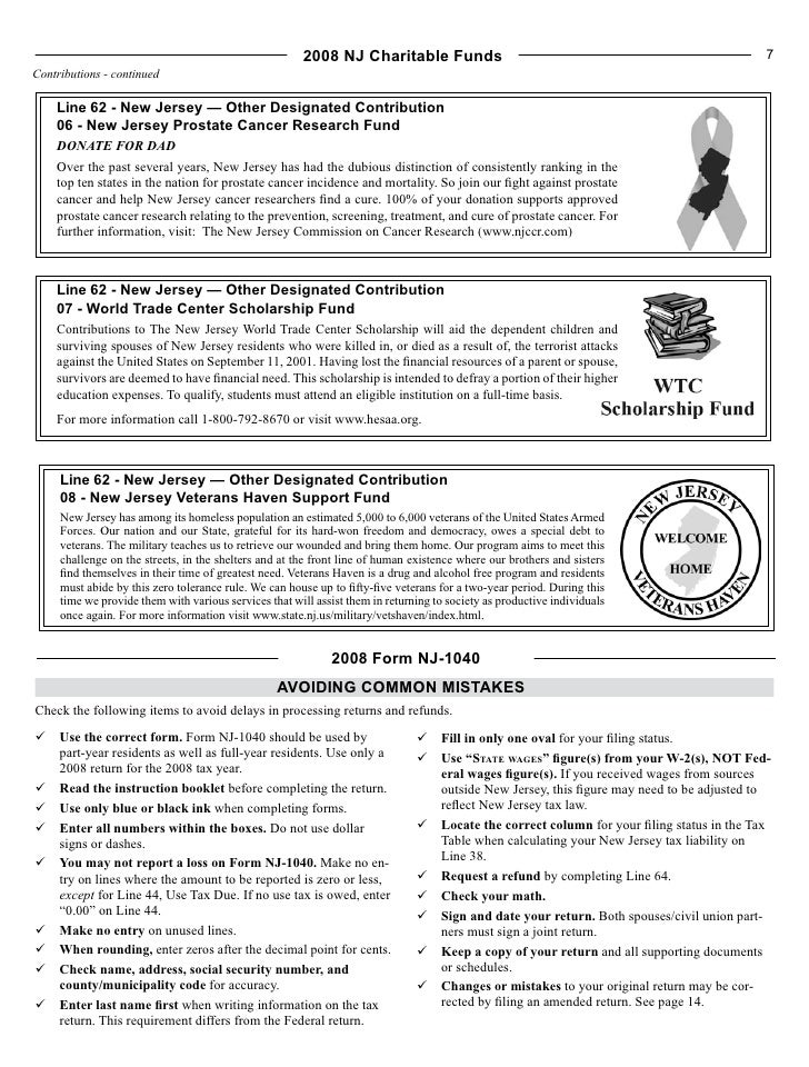 Nj Form 1040 Image Collections Free Form Design Examples