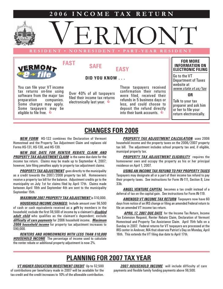 IN-111 - Income Tax Return