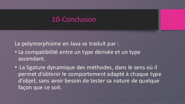 Polymorphisme en java pdf generator