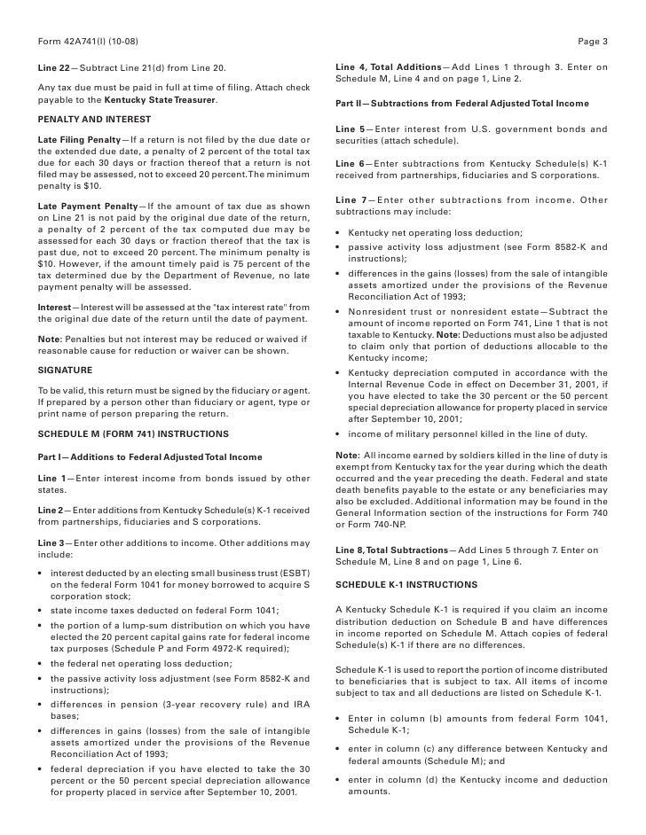 Form 741 Honghankk