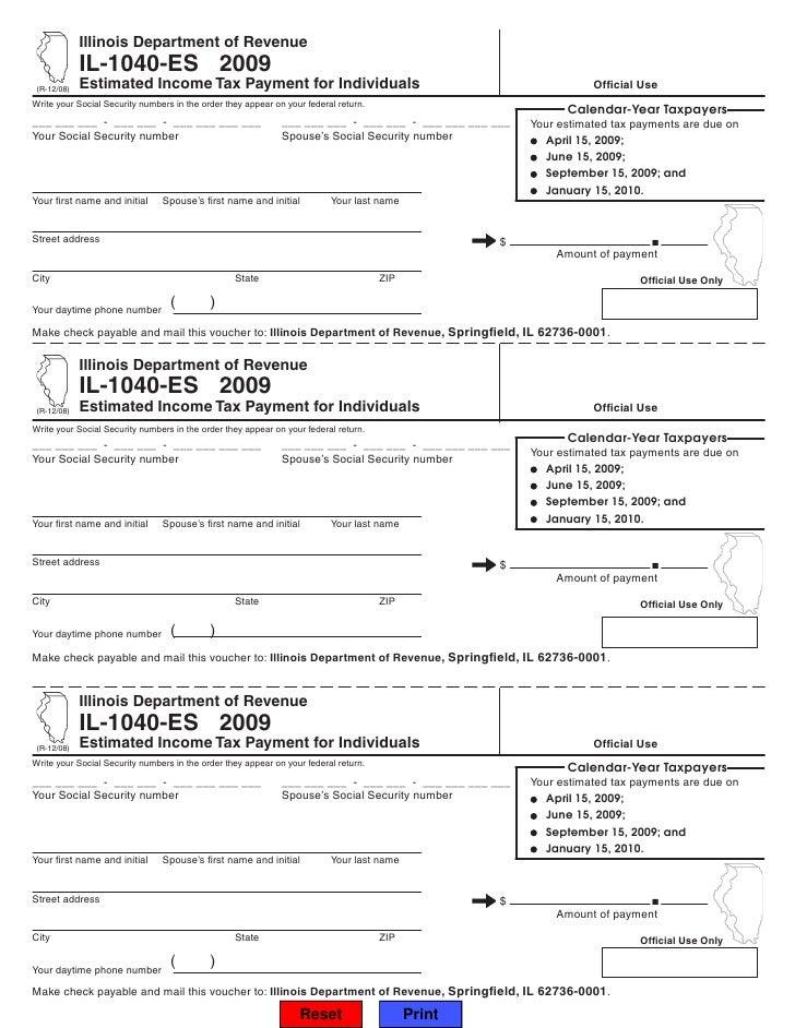 Illinois Tax Form 1040 Bogasrdenstaging