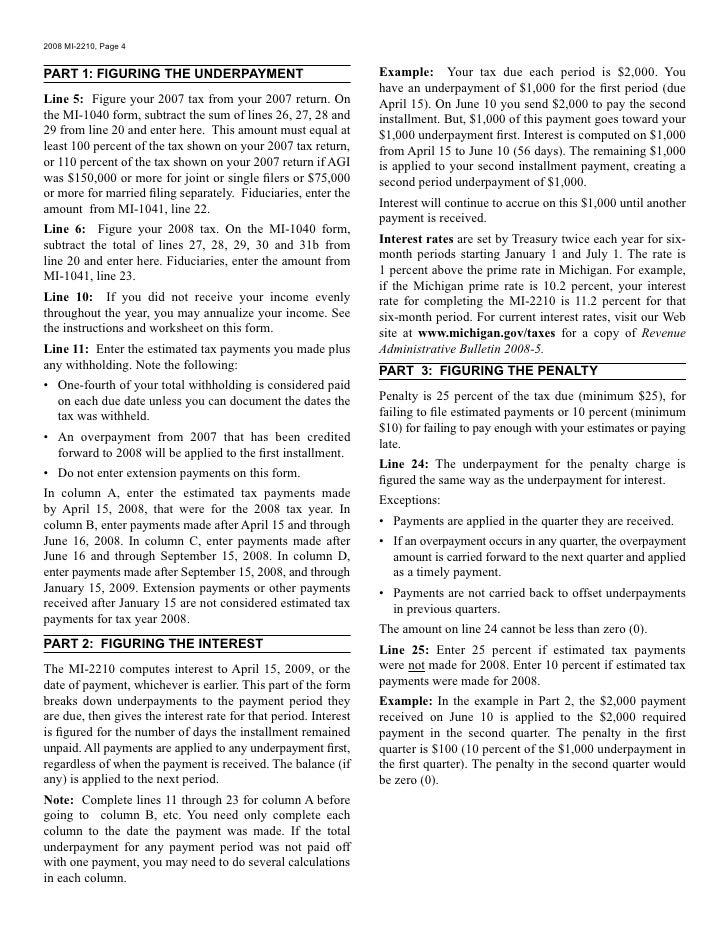 Mi 22102608487 Michigan Documents Taxes