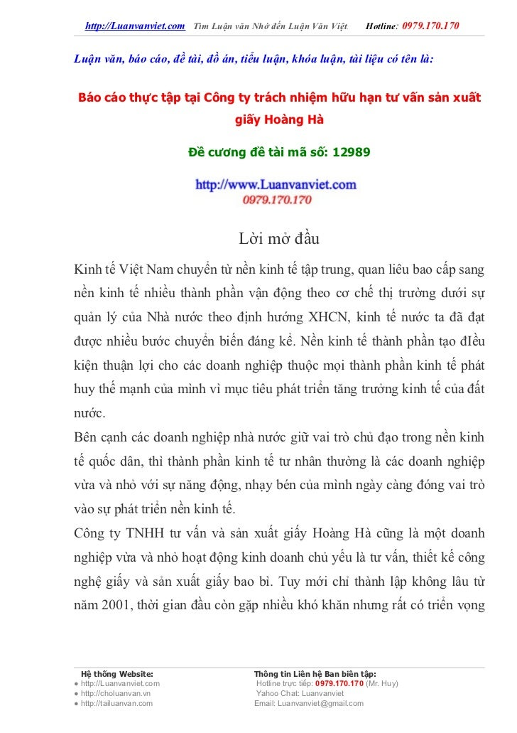 http://Luanvanviet.com Tìm Luận văn Nhớ đến Luận Văn Việt.          Hotline: 0979.170.170Luận văn, báo cáo, đề tài, đồ án,...