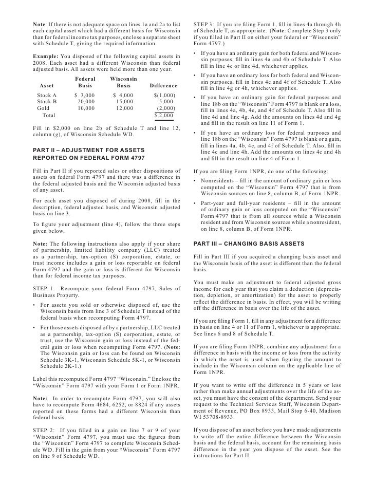 Form 1a Wisconsin Ibovnathandedecker