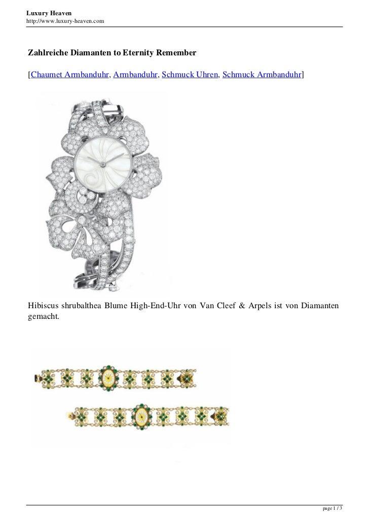 Luxury Heavenhttp://www.luxury-heaven.comZahlreiche Diamanten to Eternity Remember[Chaumet Armbanduhr, Armbanduhr, Schmuck...