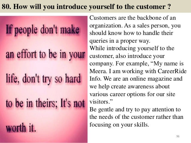 108 retail interview questions and answers