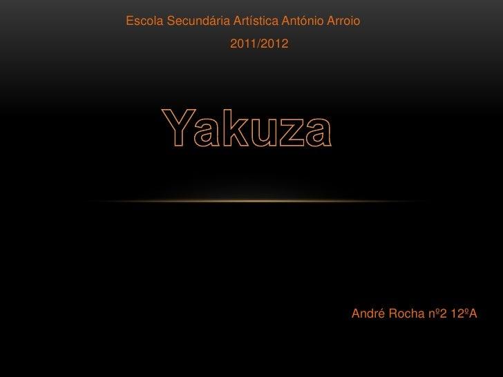Escola Secundária Artística António Arroio                  2011/2012                                        André Rocha n...