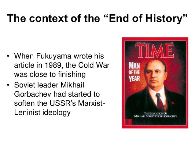 the end of history fukuyama essay pdf The end of laissez-faire, the end of history, and the structure of there is, in fact, much to be learnt from a close reading of fukuyama's original essay.