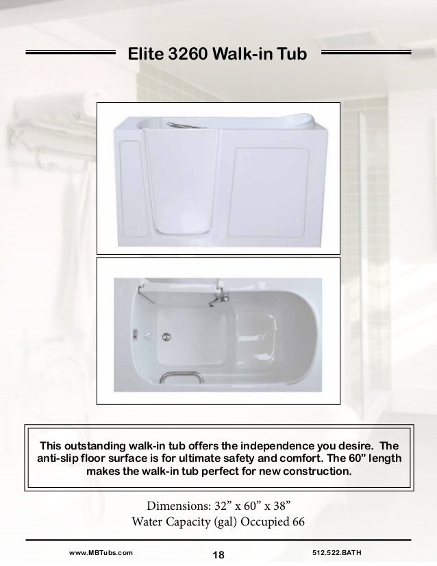 Mbtubsproductbindersmallsize for Walk in tub water capacity