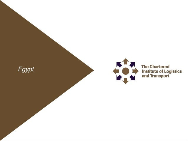 Egypt 1 The chartered institute of Logistics CILT EgyptEgypt