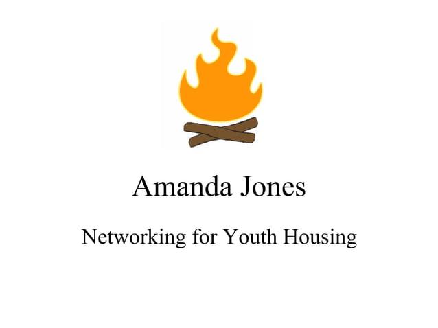 Amanda Jones Networking for Youth Housing