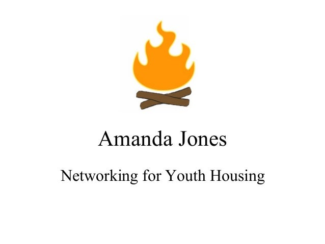 Amanda Jones Networking for Youth Housing