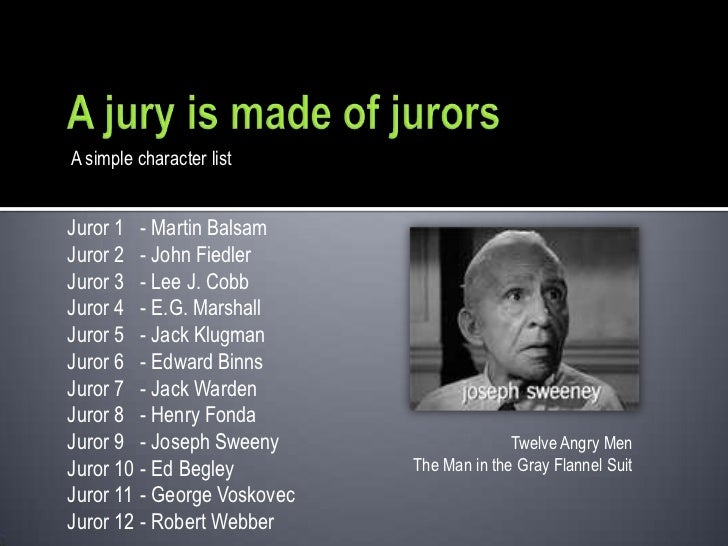 12 angry men character analysis juror 8