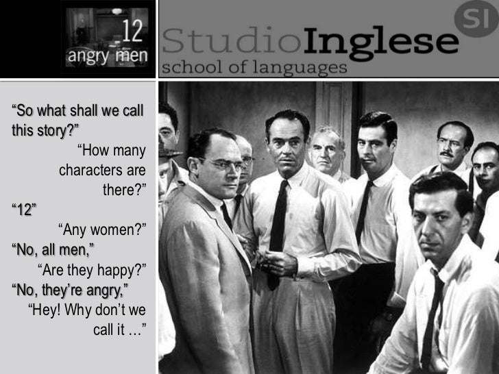integrity twelve angry men '12 angry men' by reginald rose is a play about twelve men on a jury deciding the fate of a young man accused of murder read on for a short.
