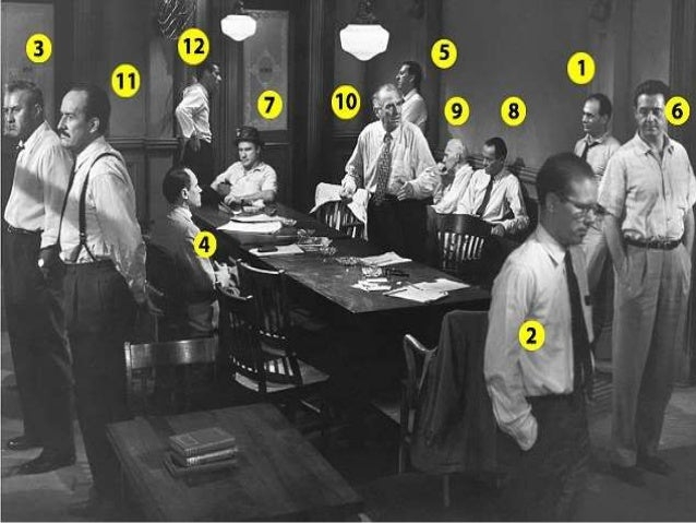 12 angry men juror 9 (adapted from the play 12 angry men)  the man who persuaded the others that the boy may not be guilty juror #9  a refugee from europe juror #12.