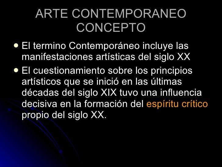 12 arte contemporaneo