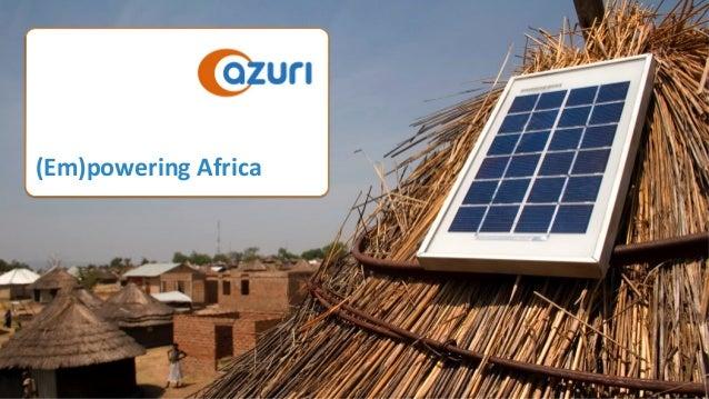 (Em)poweringAfrica