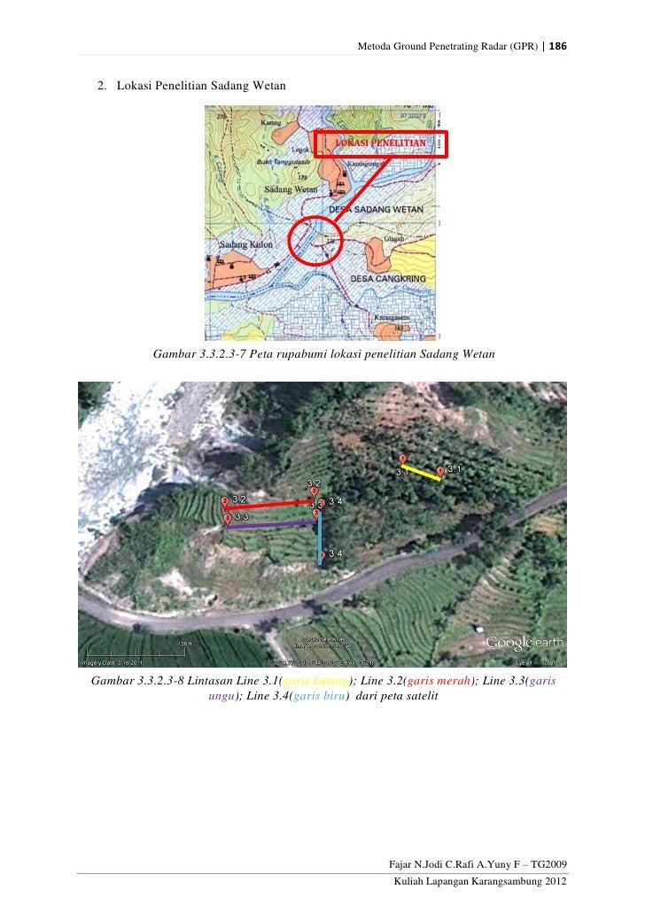 Metoda Ground Penetrating Radar (GPR) | 186 2. Lokasi Penelitian Sadang Wetan                                             ...