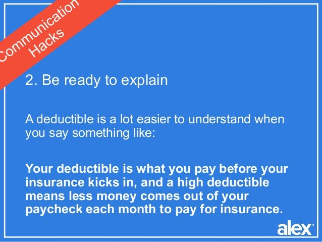 canonprintermx410: 25 Lovely What Does High Deductible Mean