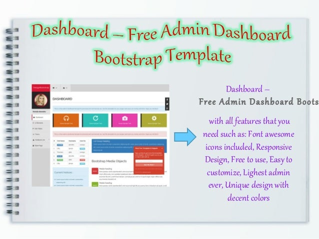 free bootstrap 4 admin dashboard template 6 pages 6 autos post. Black Bedroom Furniture Sets. Home Design Ideas
