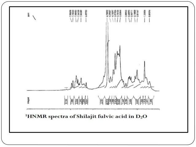 ANALYSIS OF HUMIC ACID FROM SHILAJIT