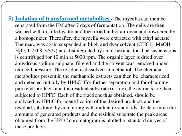 DIRECT COMPARISON OF 3-OH-DBP and 3,8-(OH)2 -DBP It can be done by HPTLC & HPLC. 1. HPTLC Conditions : HPTLC can be perfo...