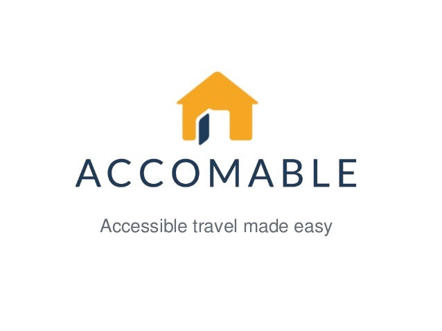 Accessible travel made easy