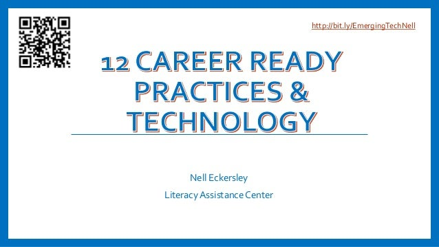 Nell Eckersley Literacy Assistance Center http://bit.ly/EmergingTechNell