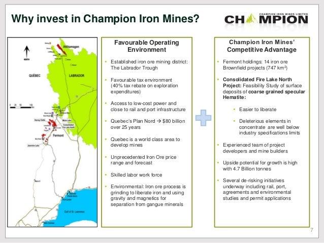 CIA:ASE Stock Quote - Champion Iron Ltd - Bloomberg Markets