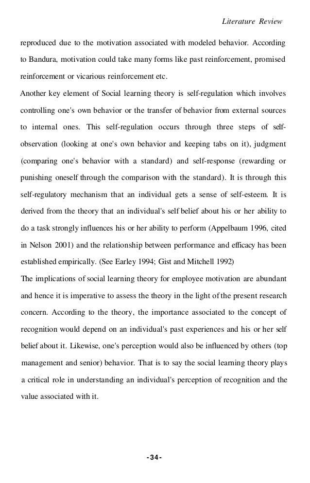 Bandura literature review best reflective essay editing website