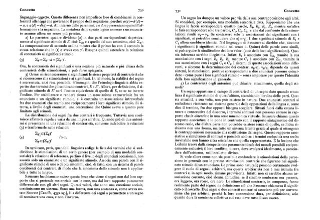 Concetto enciclopedia einaudi 1982 for Annesso significato