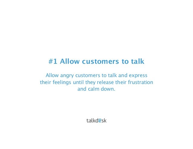 customer service conflict resolution