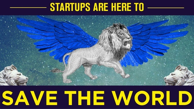 Startups are going to save the world, Oussama Ammar, Partner at TheFamily Slide 3