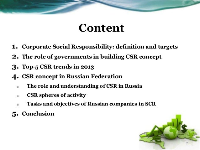 the role of government regulation of business in building the concept of corporate social responsibility
