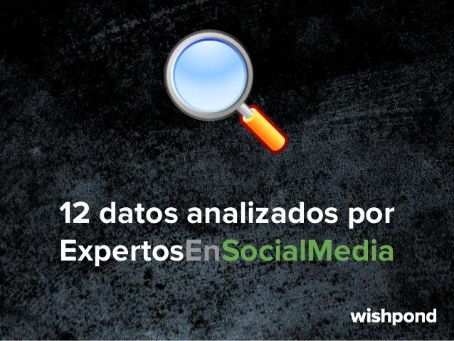 12 datos analizados por ExpertosEnSocialMedia