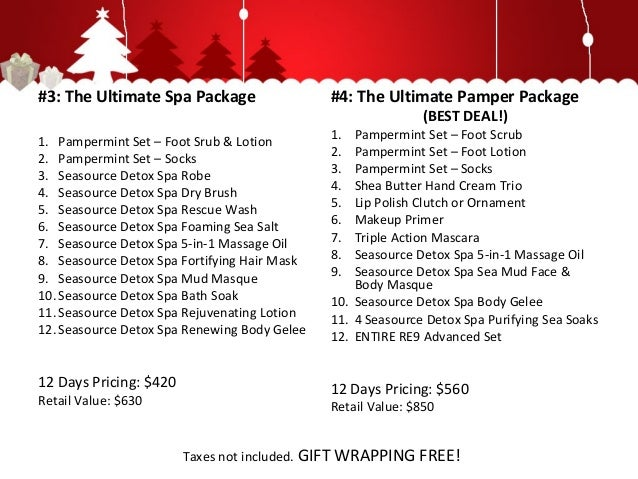 12 days of christmas for 12 days of christmas salon specials