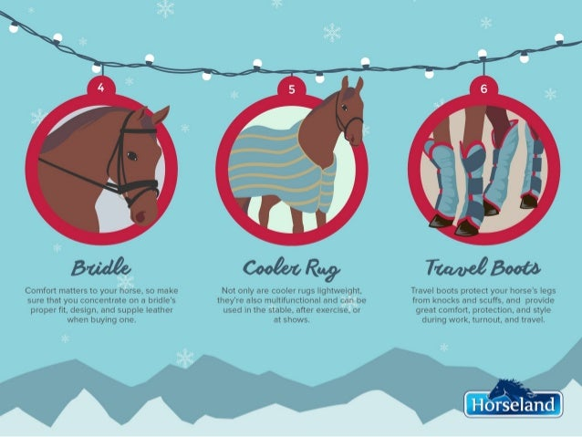 12 Days of Horsey Christmas Slide 3