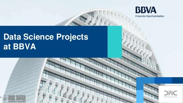 Data Science Projects at BBVA
