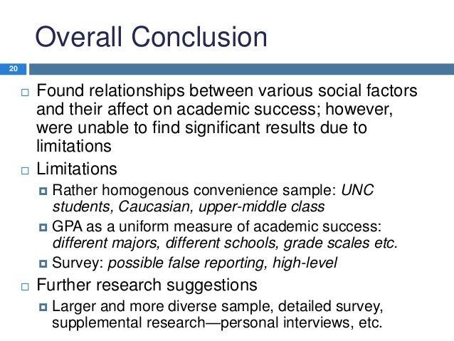 Social Factors Influencing Academic Success