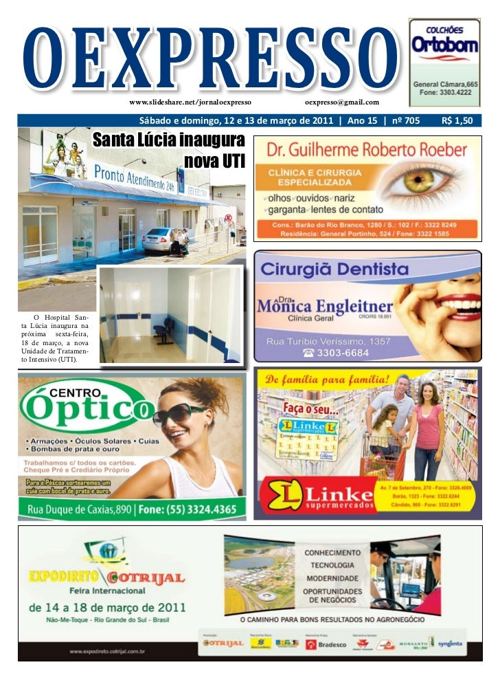 OEXPRESSO                  www.slideshare.net/jornaloexpresso   oexpresso@gmail.com                             Sábado e d...