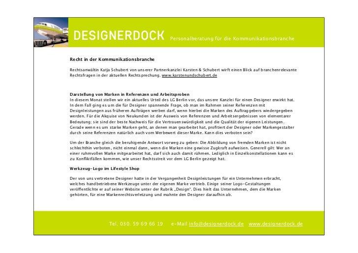 ∂                                                  Personalberatung für die KommunikationsbrancheRecht in der Kommunikatio...