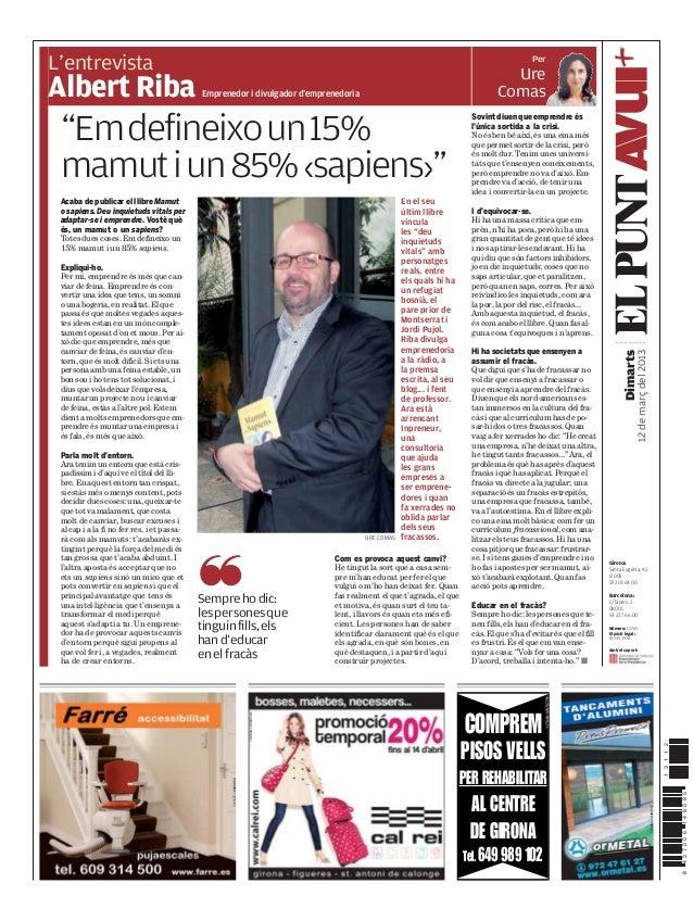 PerL'entrevistaAlbert Riba                                                                                                ...