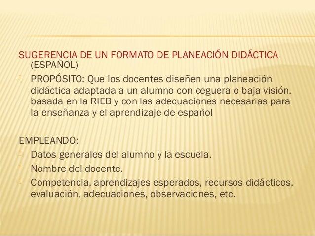  Exposición de la Planeación por competenciasen la asignatura de Español 5 ejemplos Exposición dinámica o dinámica ante...