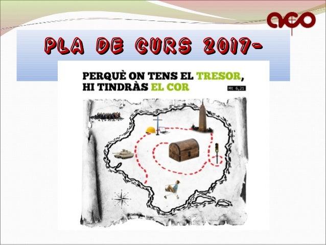 PLA DE CURS 2017-PLA DE CURS 2017- 20182018