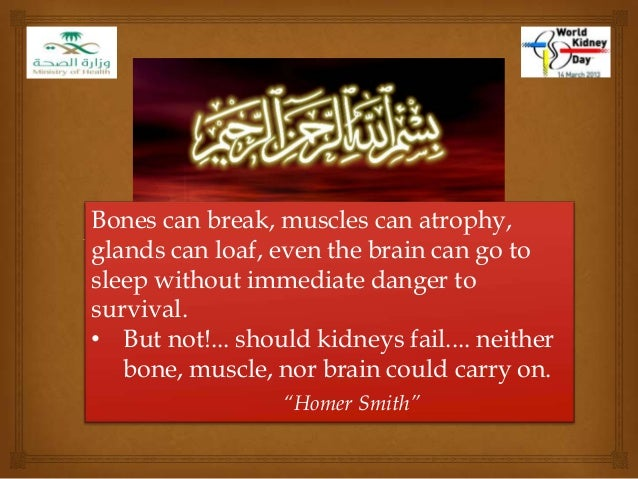 Bones can break, muscles can atrophy,glands can loaf, even the brain can go tosleep without immediate danger tosurvival.• ...