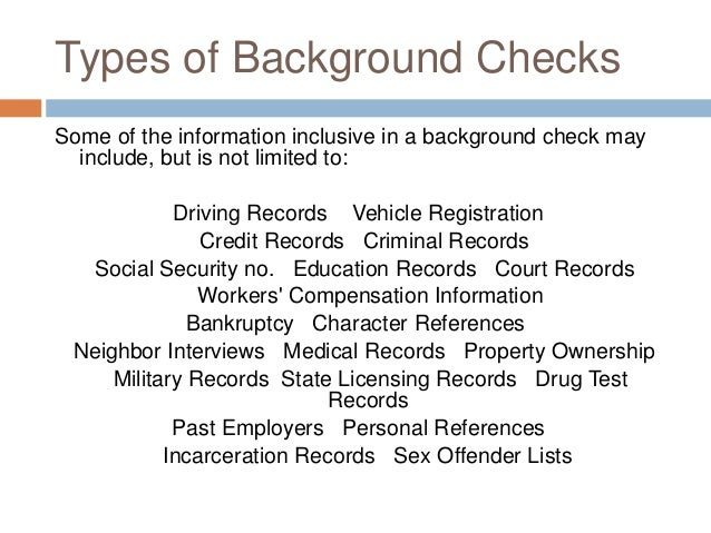 Final Presentation Negligent Hiring Due To Lack Of Background Checks …